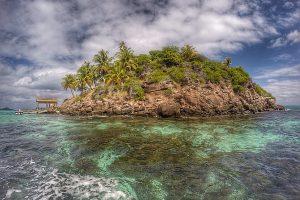 Inseln, Felsen und Riffe – Wann ist eine Insel eine Insel?