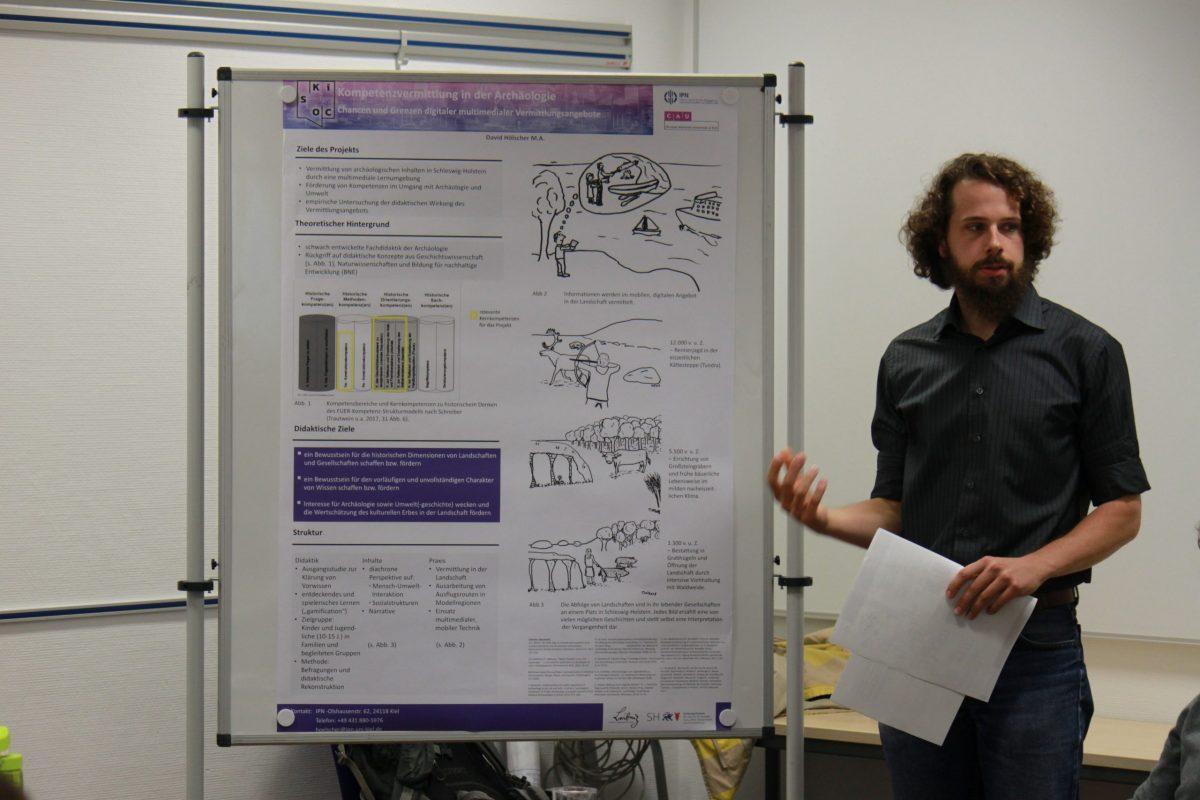 David Hölscher forscht an einer App zur Vermittlung von Themen der Archäologie